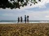 ハワイ ビーチ 散歩