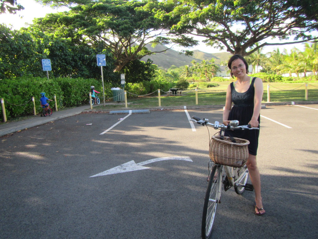 Kawainui Marsh parking