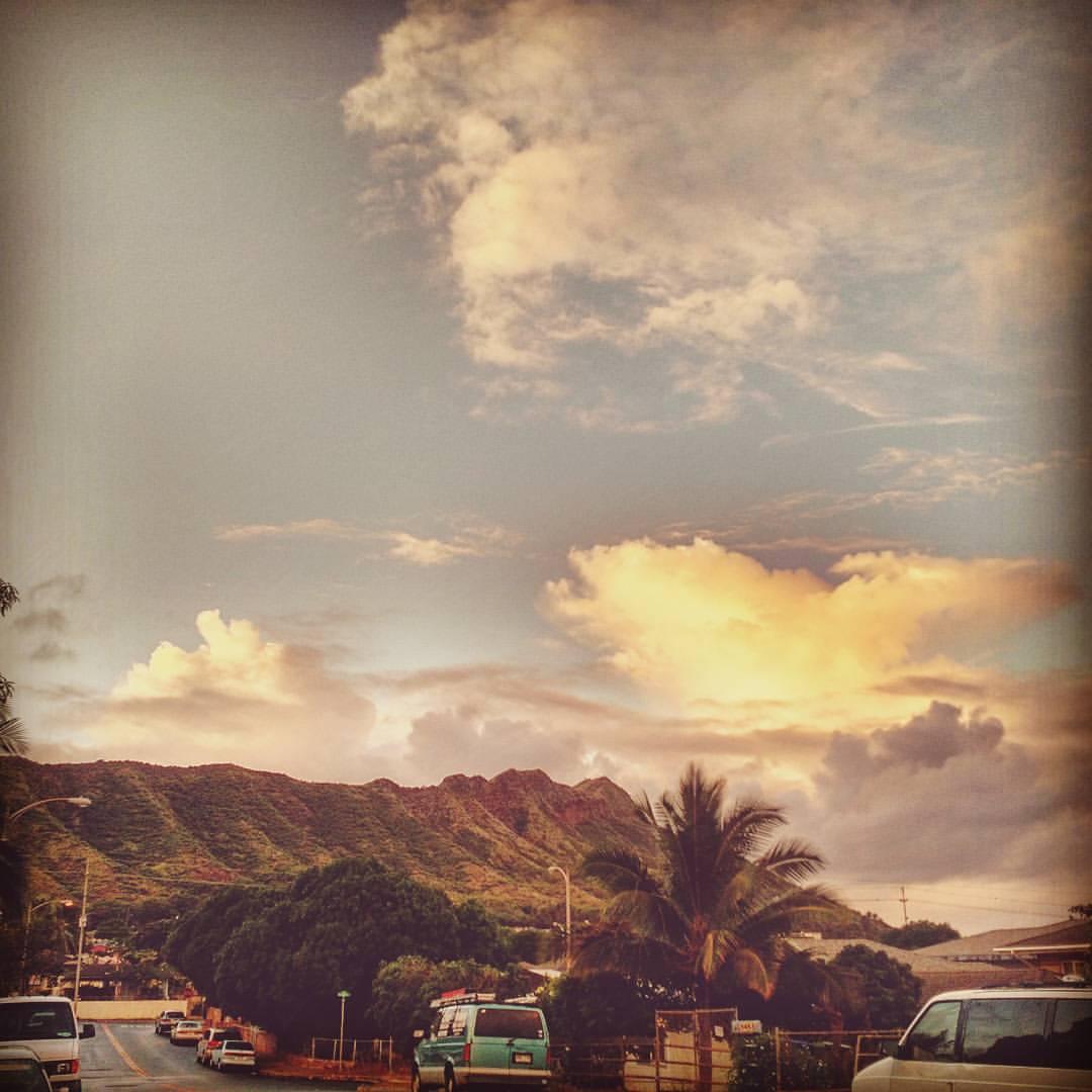 leahi sunset